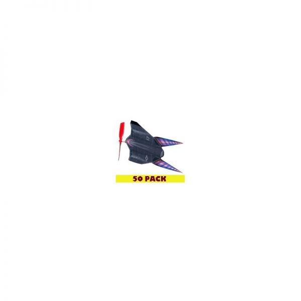 Stealth Rocket Planez (50-Pack) (RPStealth-50)