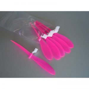 High Performance Propeller 6.5″ (6 Pack) Neon Pink