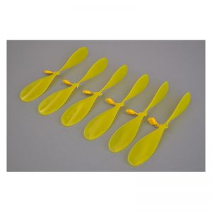 "High Performance Pusher Propeller 6.5"" (6 Pack) Neon Yellow"