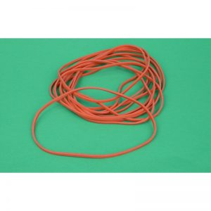 "7"" x 1/8"" red rubber bands"