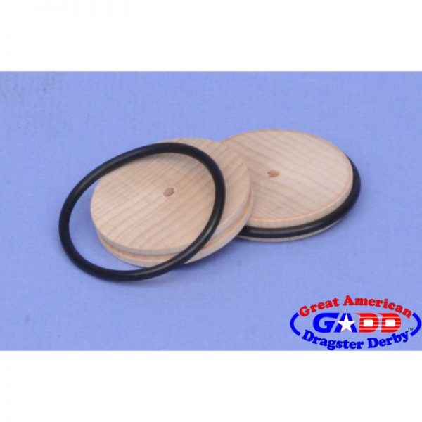 Wood Front Grooved Wheels (2)