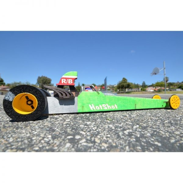 "Class Pack of 16 ""HotShot"" Super Comp Dragster (HotShot-16)"