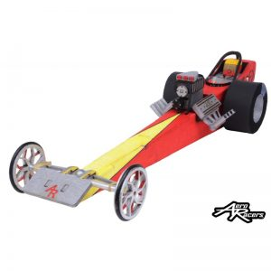 """Class Pack of 16 """"T-REX"""" Vintage Front Engine Dragster  (T-REX-16)"""