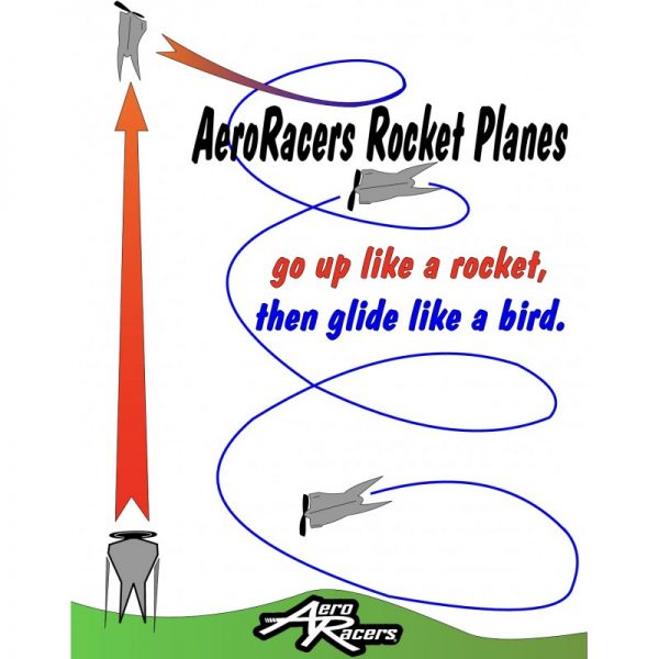 Flying Pancake Rocket Plane