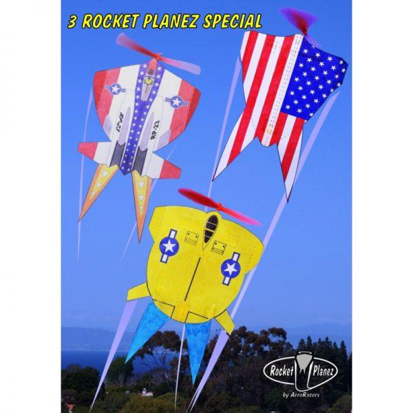 Stars&Stripes Rocket Plane