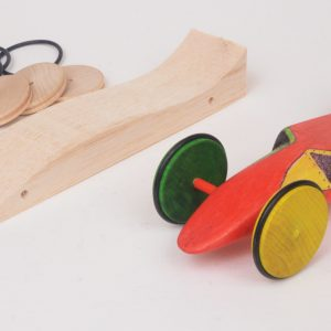 Wedge Balsa Grand Prix Racer (BGP-Wedge)