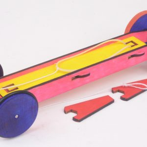 Super STRETCH Rubber Band Racer (Super-Stretch-1)