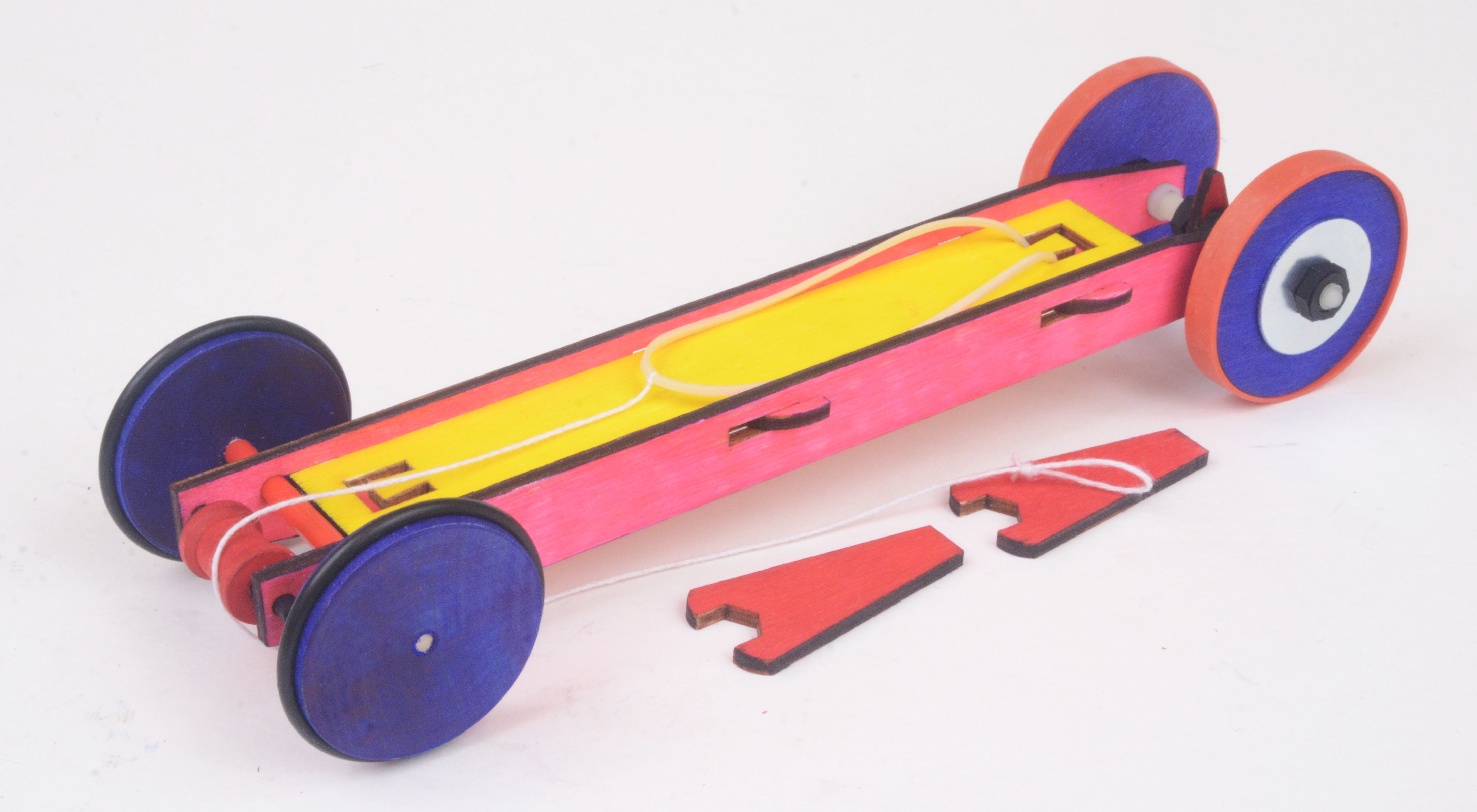 Super Stretch Rubber Band Racer Super Stretch 1 Aeroracers