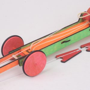 Mega STRETCH Rubber Band Racer (Mega-Stretch-1)